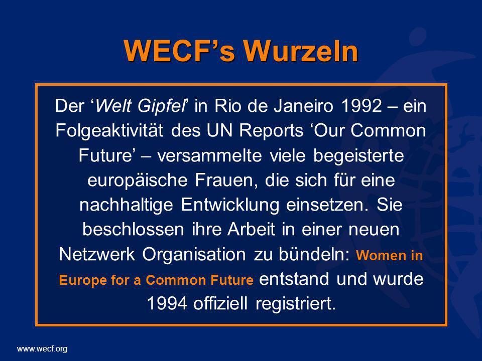 WECF's Wurzeln