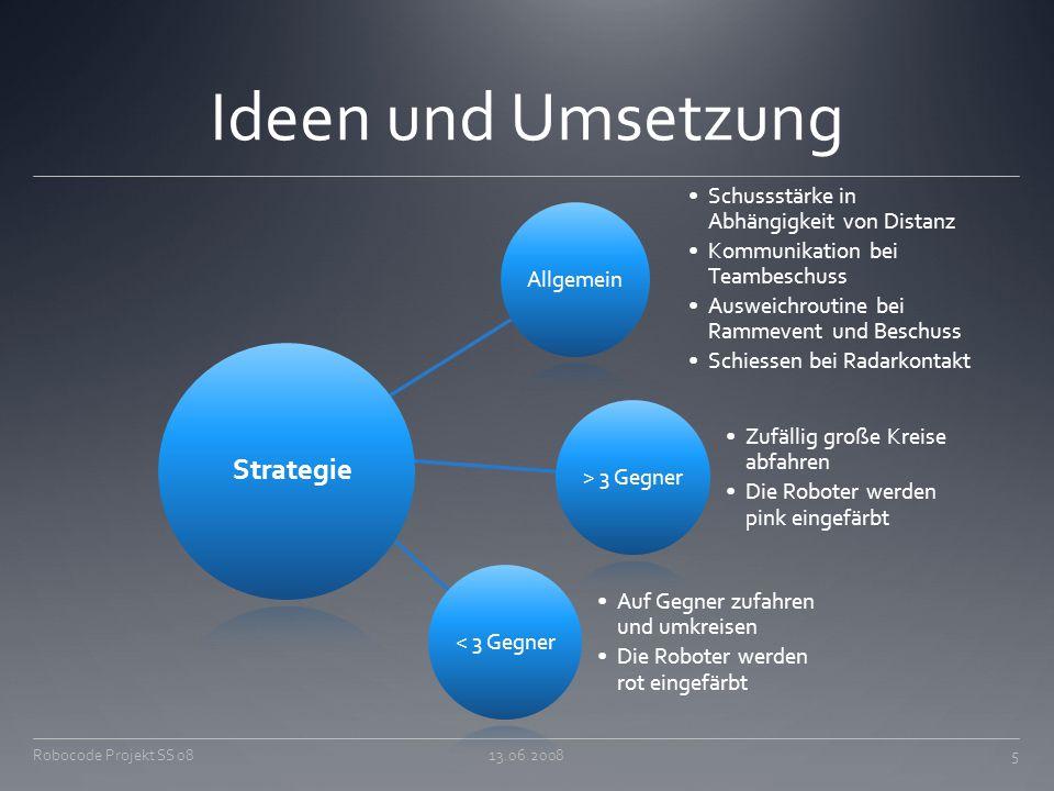 Ideen und Umsetzung Strategie Zufällig große Kreise abfahren