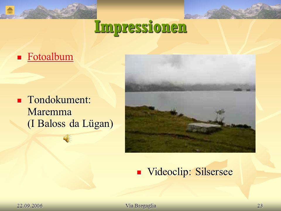 Referat: Bergeller Sentiero panoramico