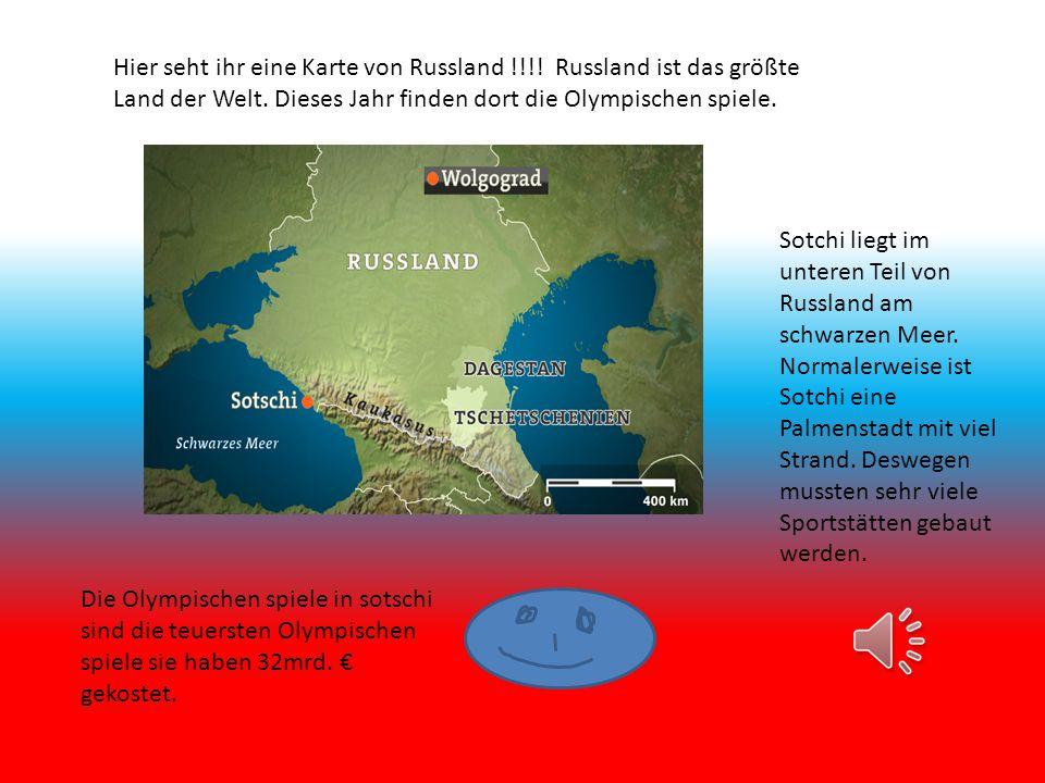 Hier seht ihr eine Karte von Russland