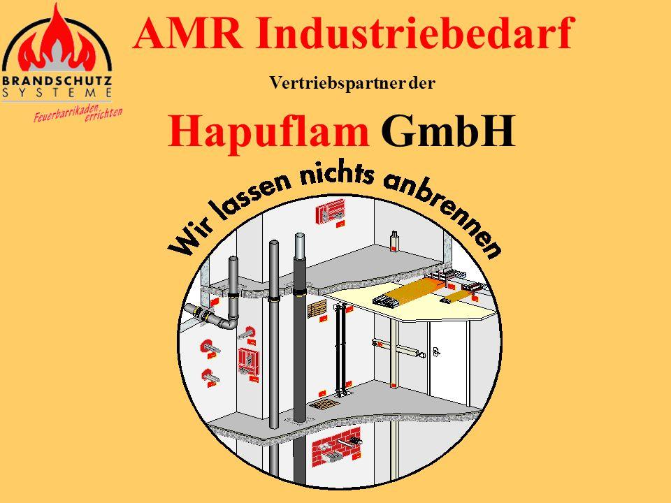 AMR Industriebedarf Vertriebspartner der Hapuflam GmbH