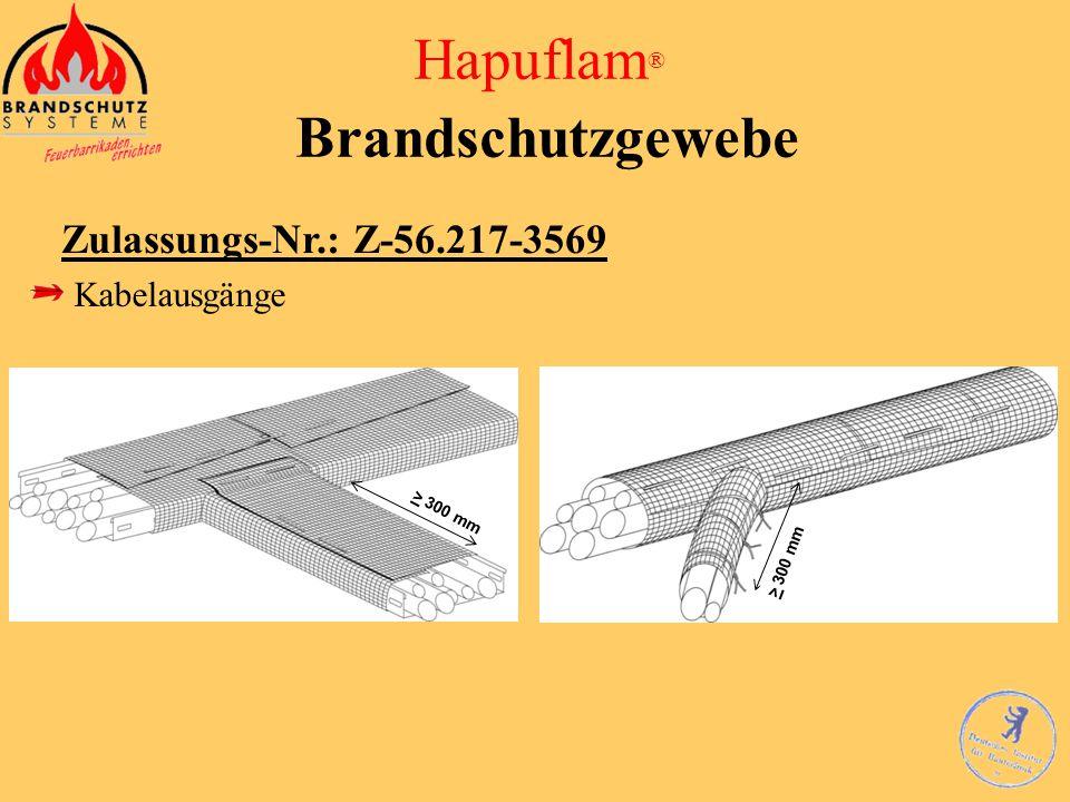 Hapuflam® Brandschutzgewebe
