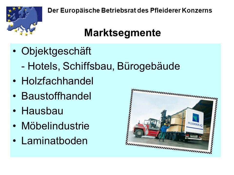 - Hotels, Schiffsbau, Bürogebäude Holzfachhandel Baustoffhandel