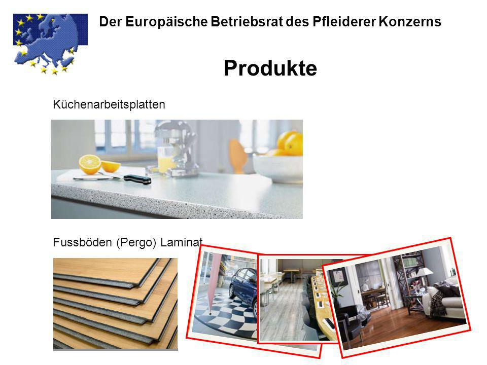 Produkte Der Europäische Betriebsrat des Pfleiderer Konzerns