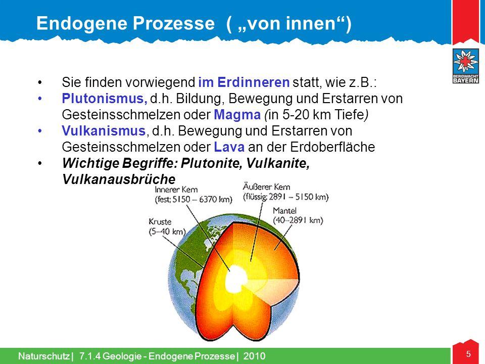 """Endogene Prozesse ( """"von innen )"""