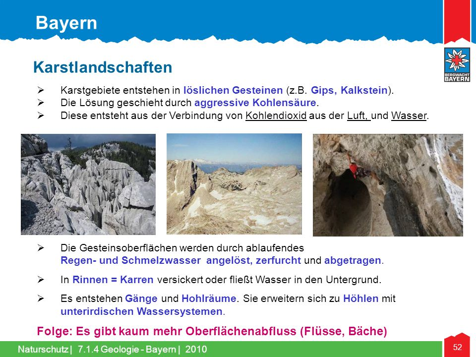 Bayern Karstlandschaften
