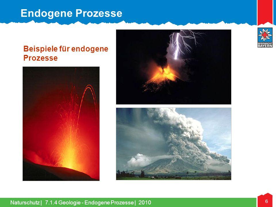 Endogene Prozesse Beispiele für endogene Prozesse