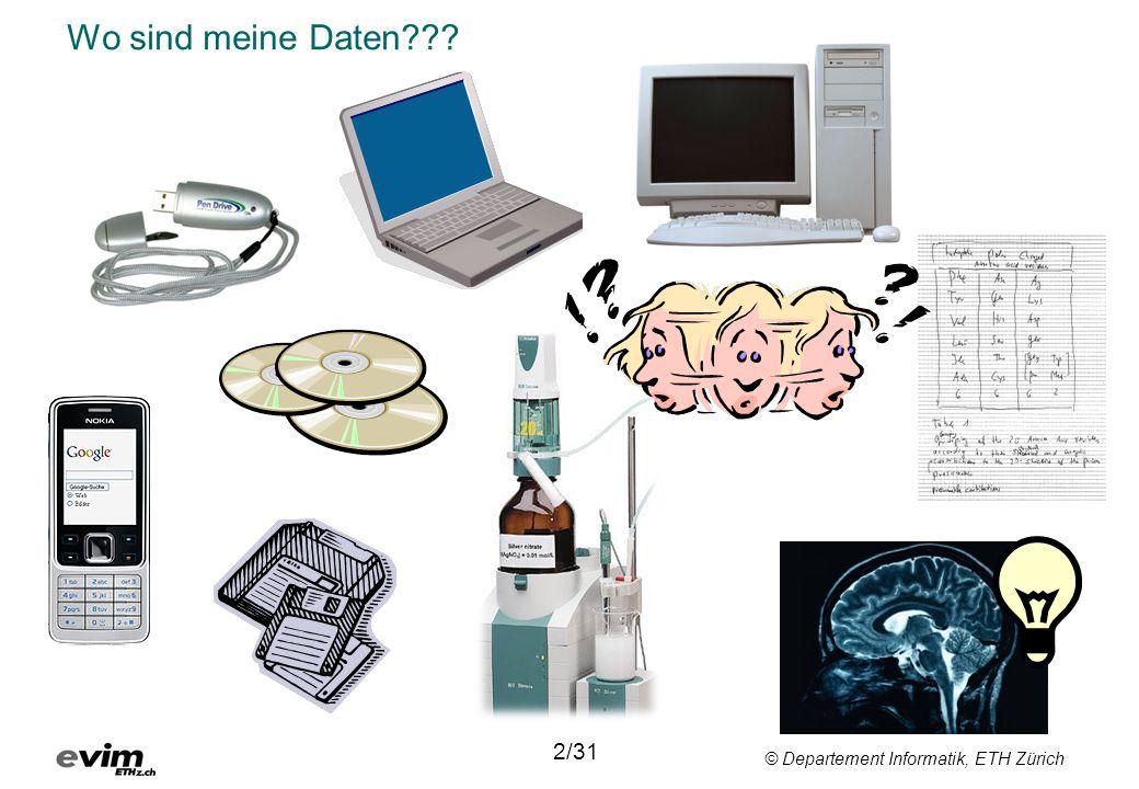 © Departement Informatik, ETH Zürich