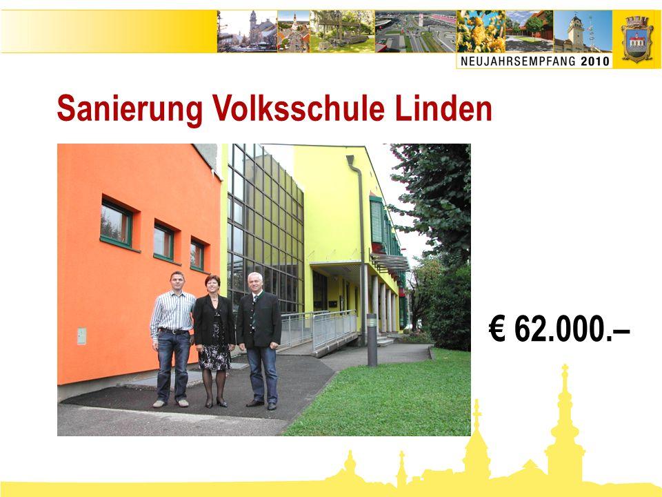 Sanierung Volksschule Linden