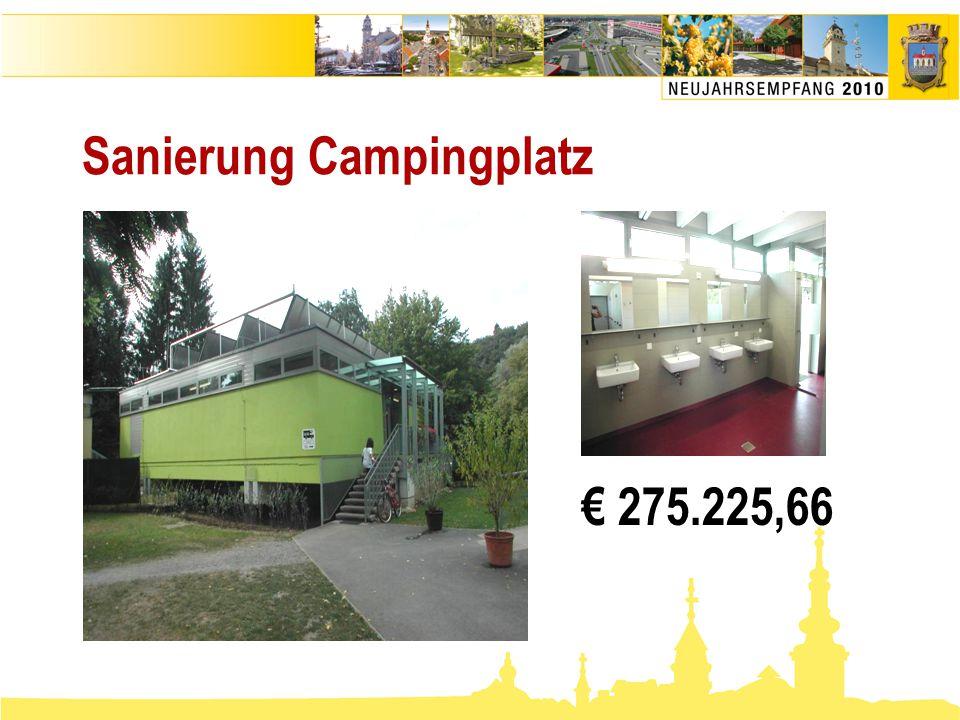 Sanierung Campingplatz