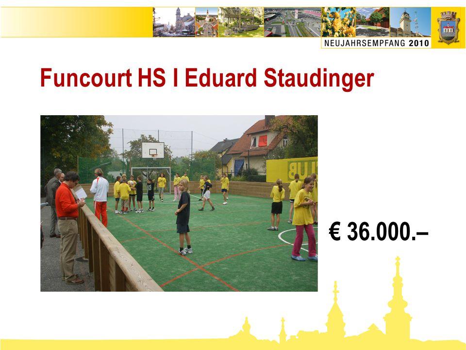 Funcourt HS I Eduard Staudinger