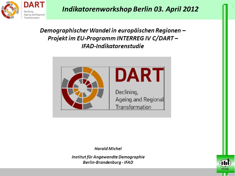 Indikatorenworkshop Berlin 03. April 2012