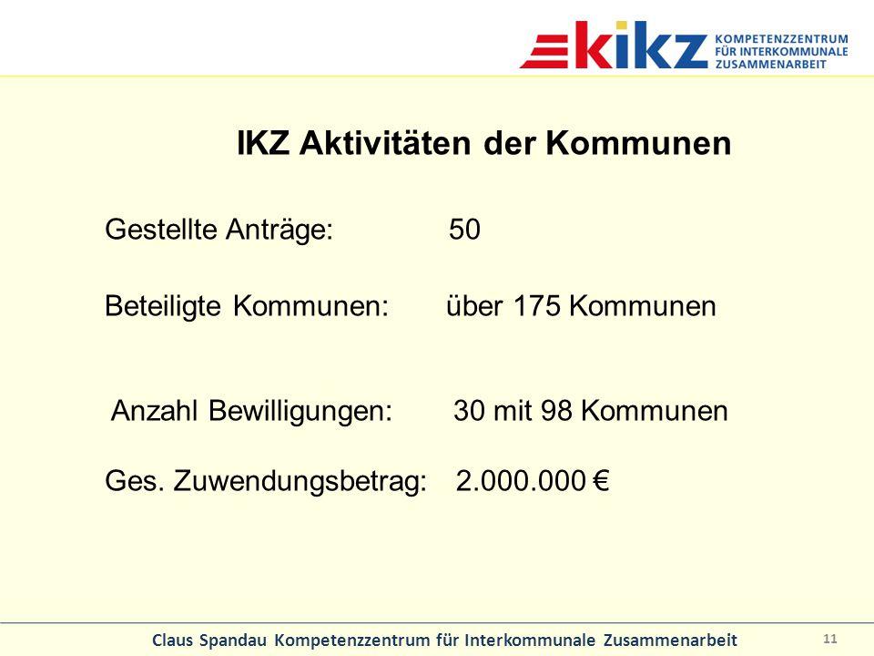 IKZ Aktivitäten der Kommunen