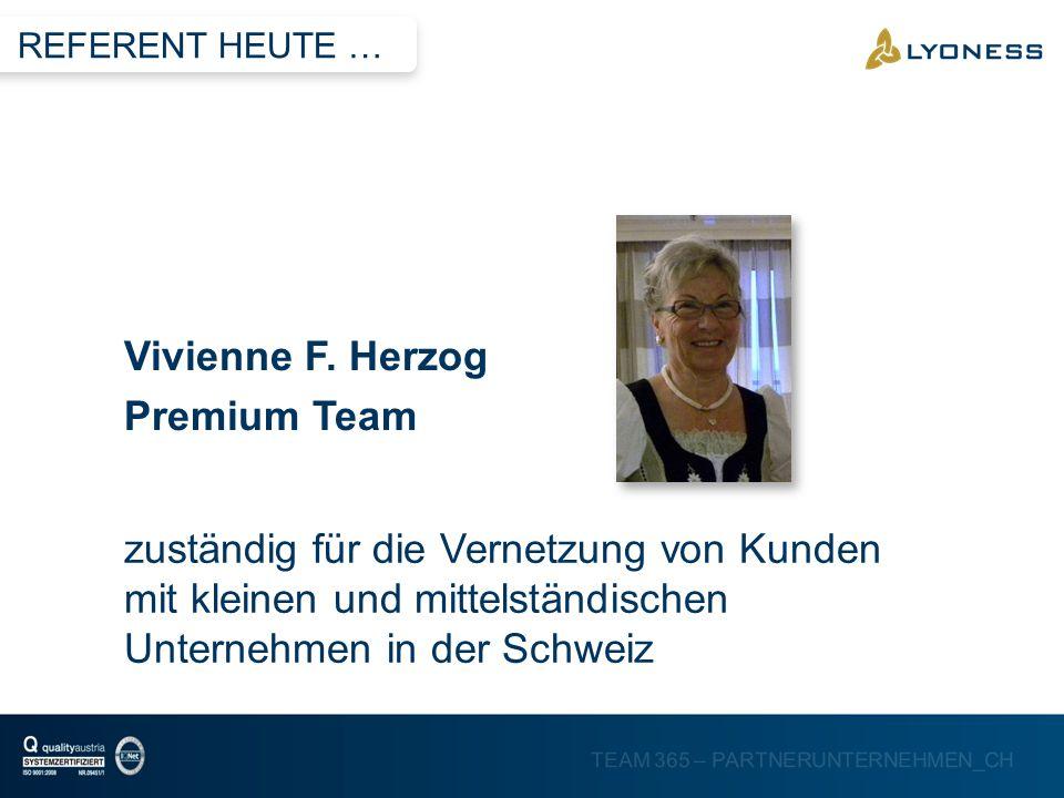 Vivienne F. Herzog Premium Team