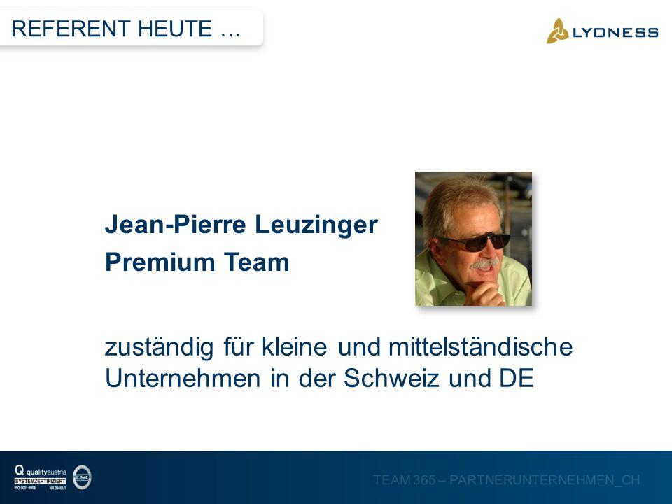 Jean-Pierre Leuzinger Premium Team