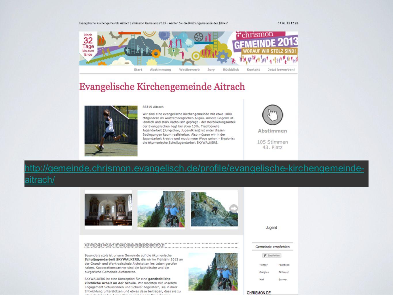 http://gemeinde. chrismon. evangelisch