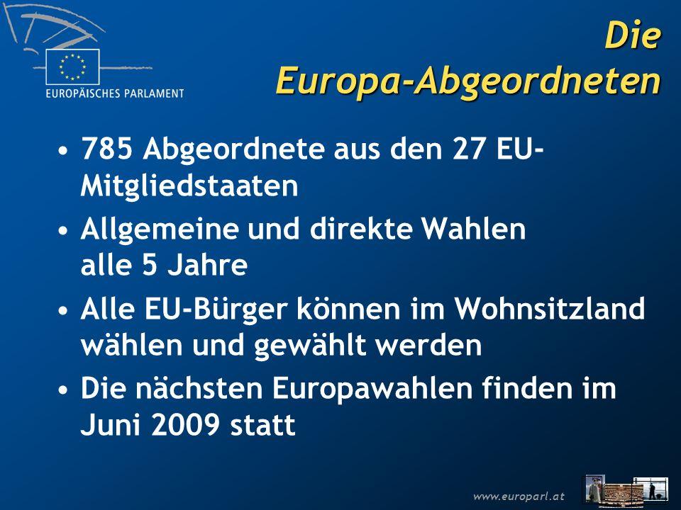 Die Europa-Abgeordneten