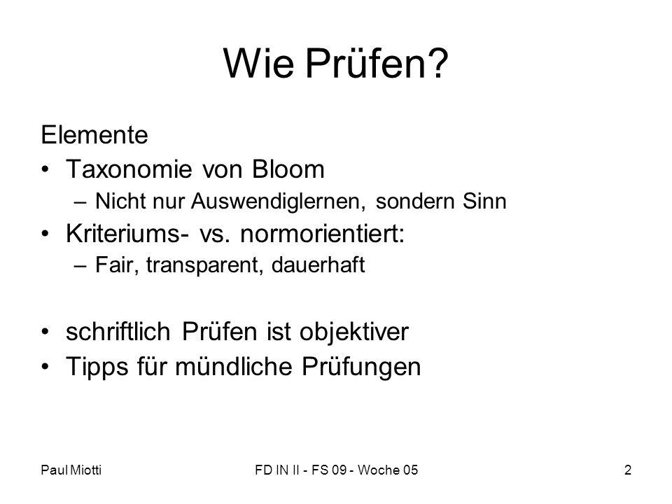Wie Prüfen Elemente Taxonomie von Bloom