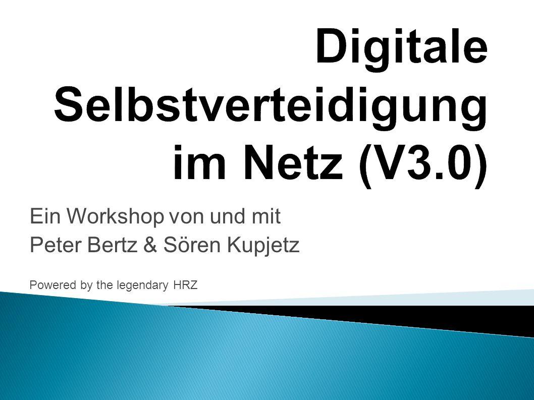 Digitale Selbstverteidigung im Netz (V3.0)