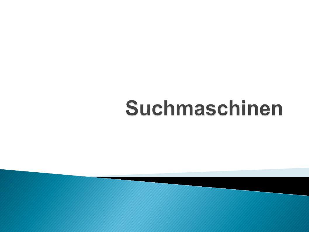 Suchmaschinen