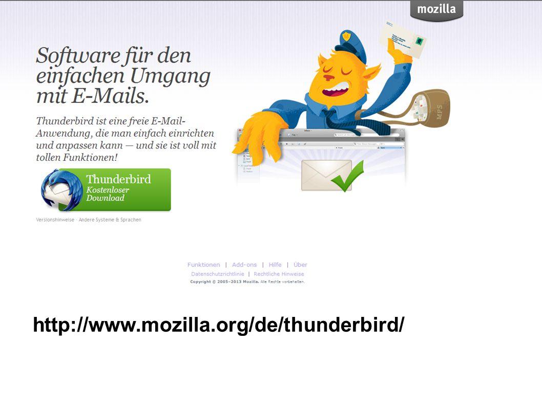 http://www.mozilla.org/de/thunderbird/