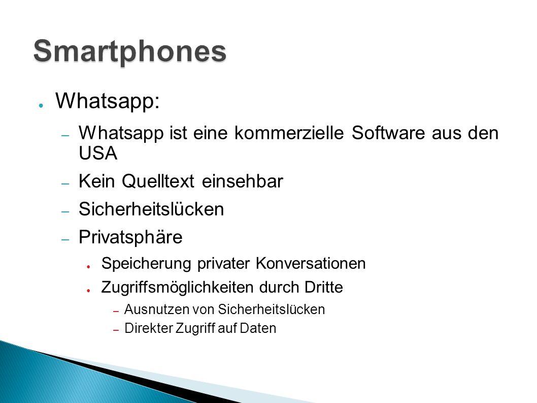 Smartphones Whatsapp: