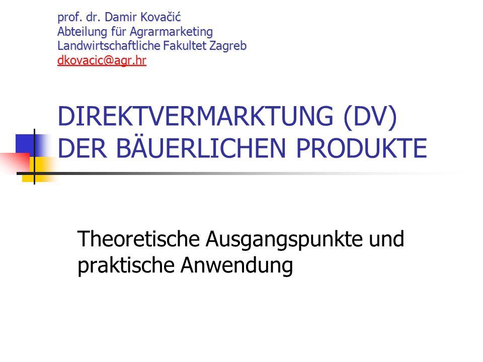 Theoretische Ausgangspunkte und praktische Anwendung