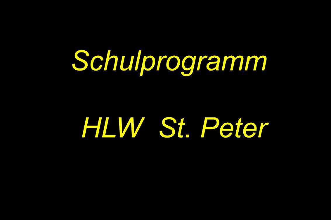 Schulprogramm HLW St. Peter