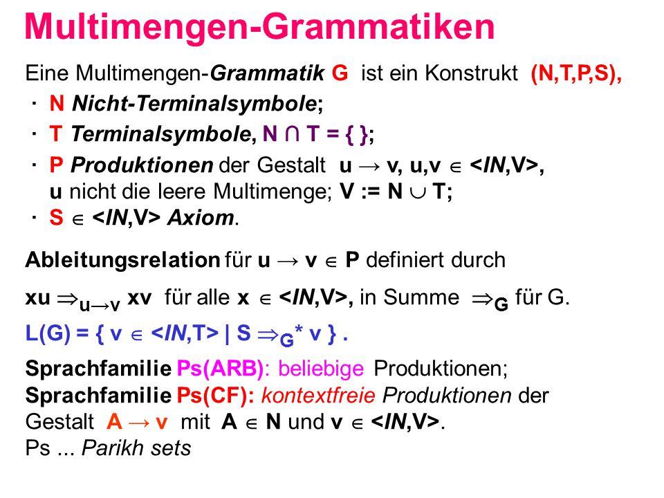 Multimengen-Grammatiken