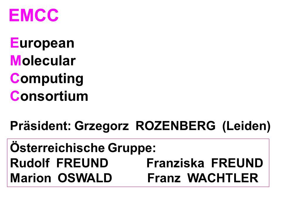 EMCC European Molecular Computing Consortium