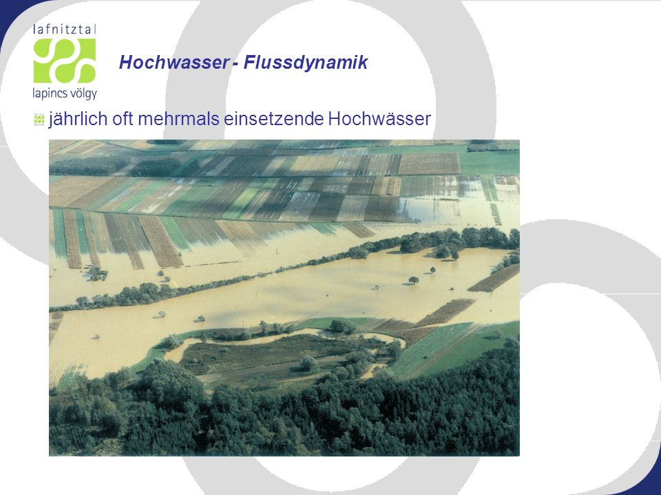 Hochwasser - Flussdynamik