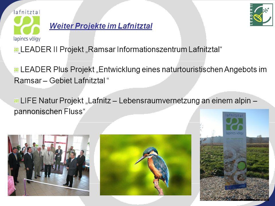 Weiter Projekte im Lafnitztal
