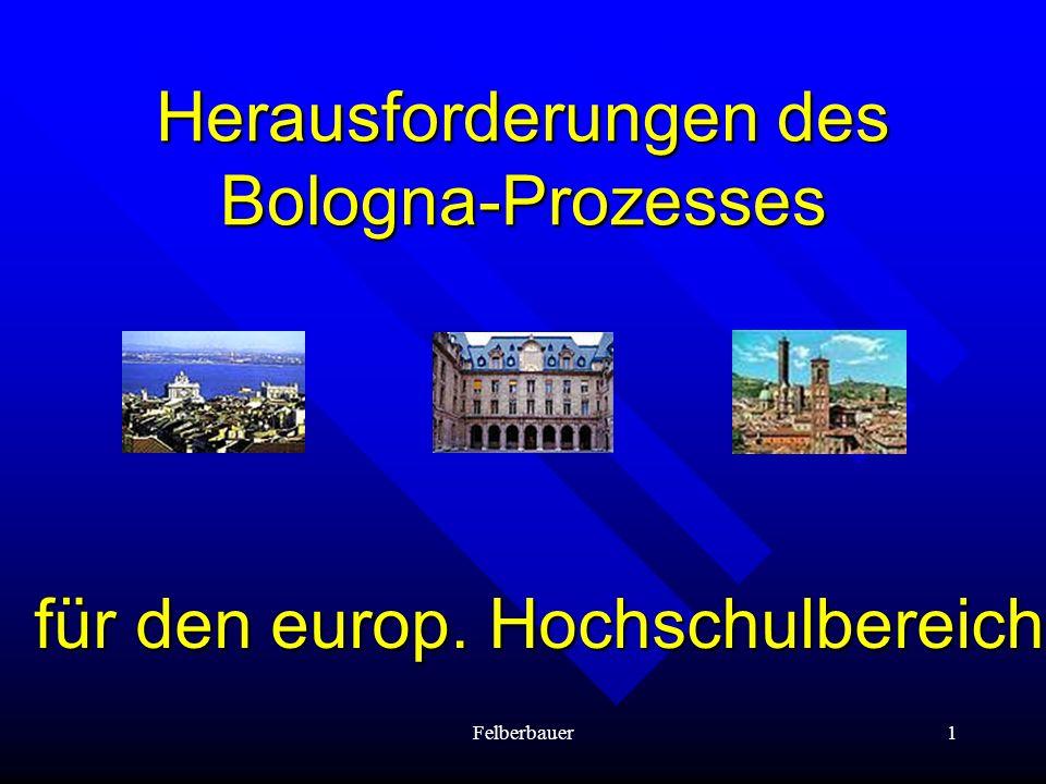 Herausforderungen des Bologna-Prozesses