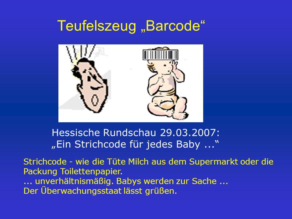 "Teufelszeug ""Barcode"