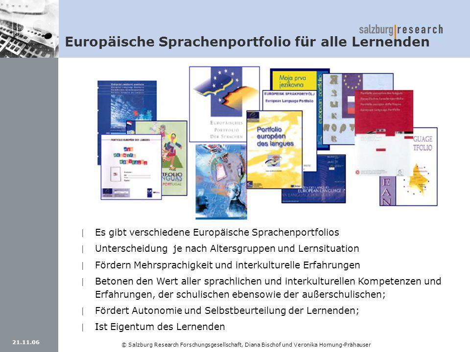 Europäische Sprachenportfolio für alle Lernenden