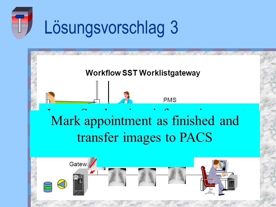 Workflow SST Worklistgateway