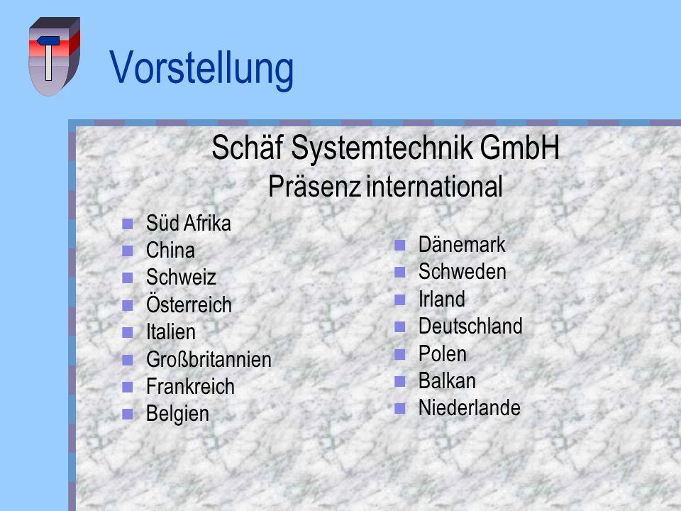 Vorstellung Schäf Systemtechnik GmbH Präsenz international Süd Afrika