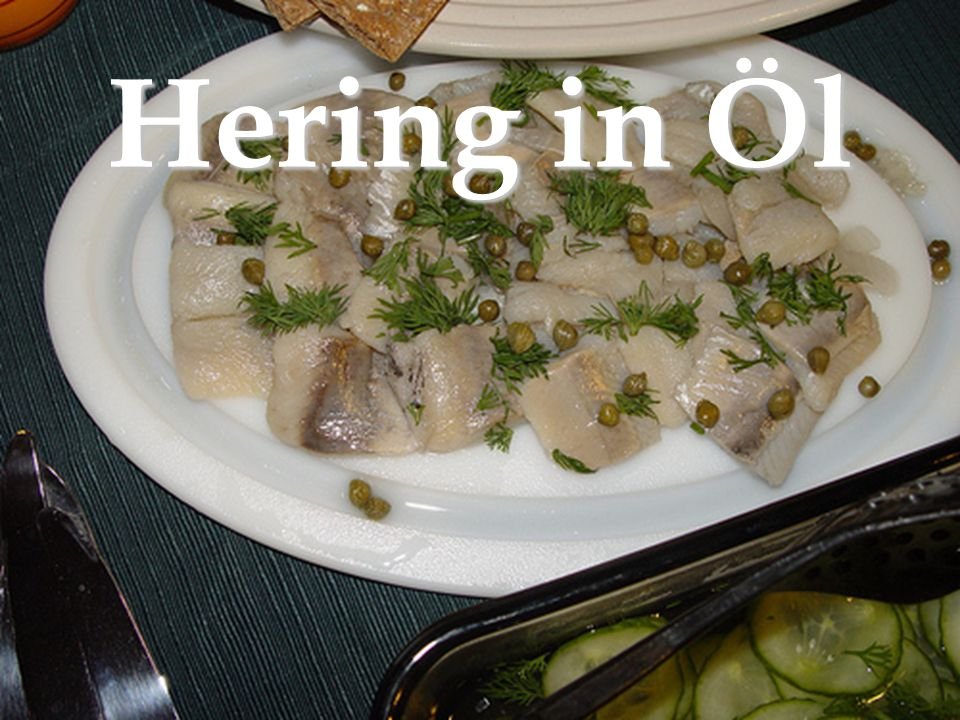 Hering in Öl