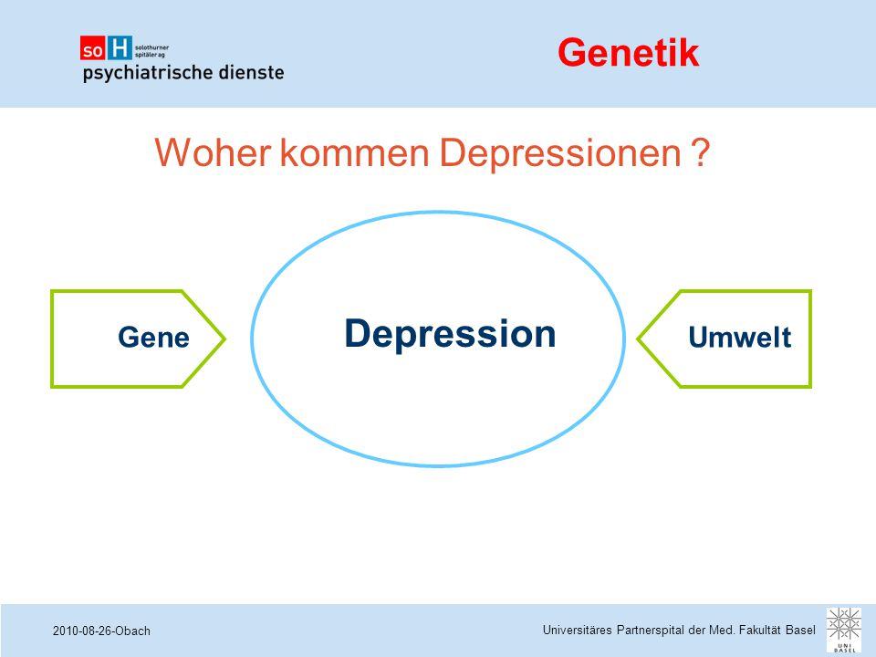 Woher kommen Depressionen