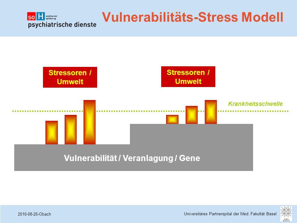 Vulnerabilitäts-Stress Modell