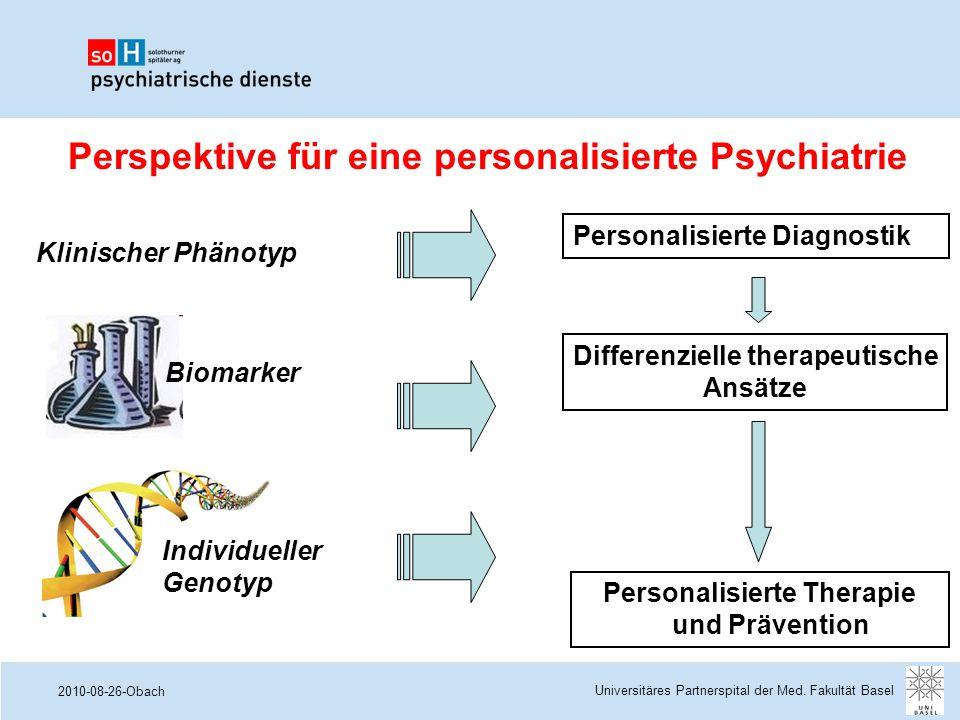Perspektive für eine personalisierte Psychiatrie
