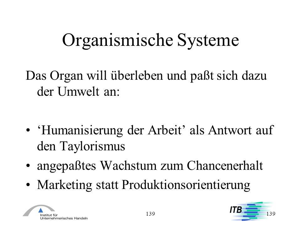 Organismische Systeme