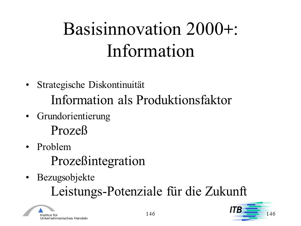 Basisinnovation 2000+: Information