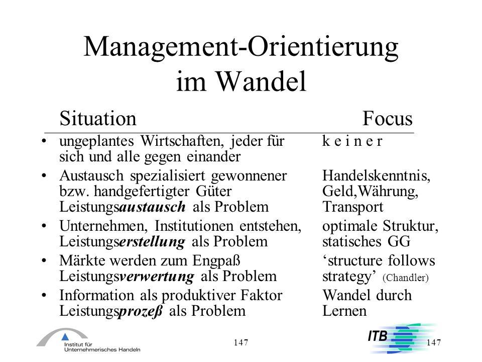 Management-Orientierung im Wandel