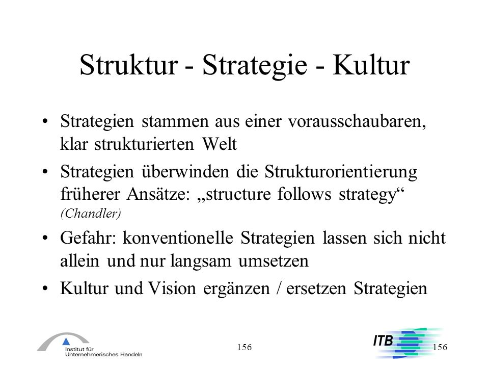 Struktur - Strategie - Kultur
