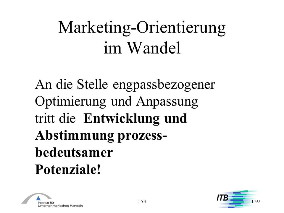 Marketing-Orientierung im Wandel