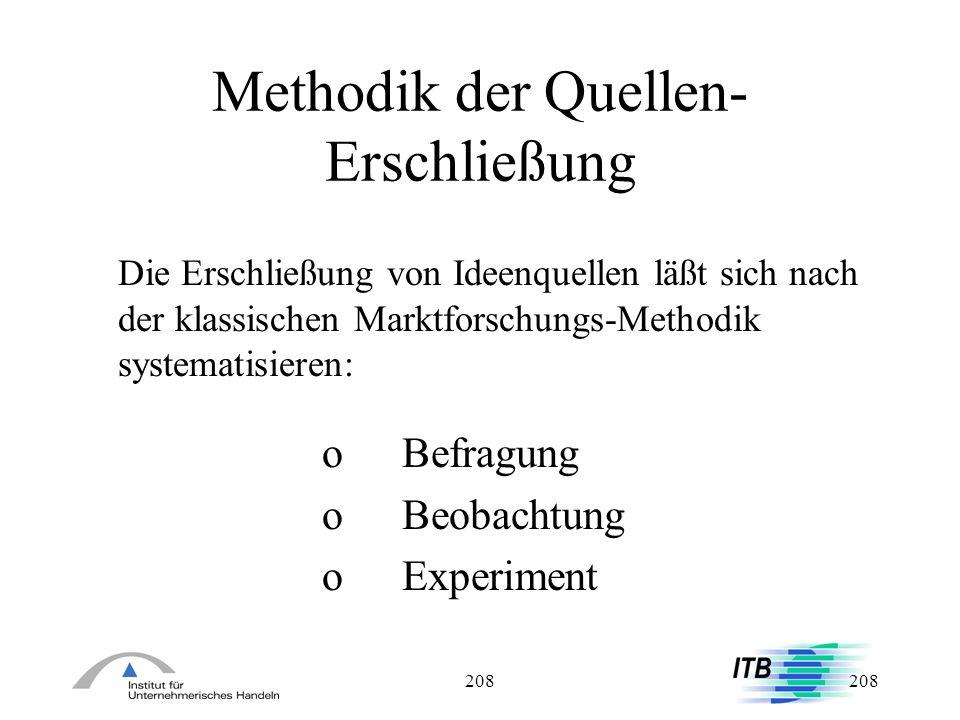 Methodik der Quellen- Erschließung