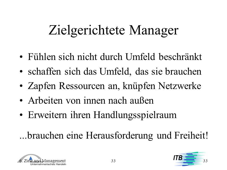 Zielgerichtete Manager