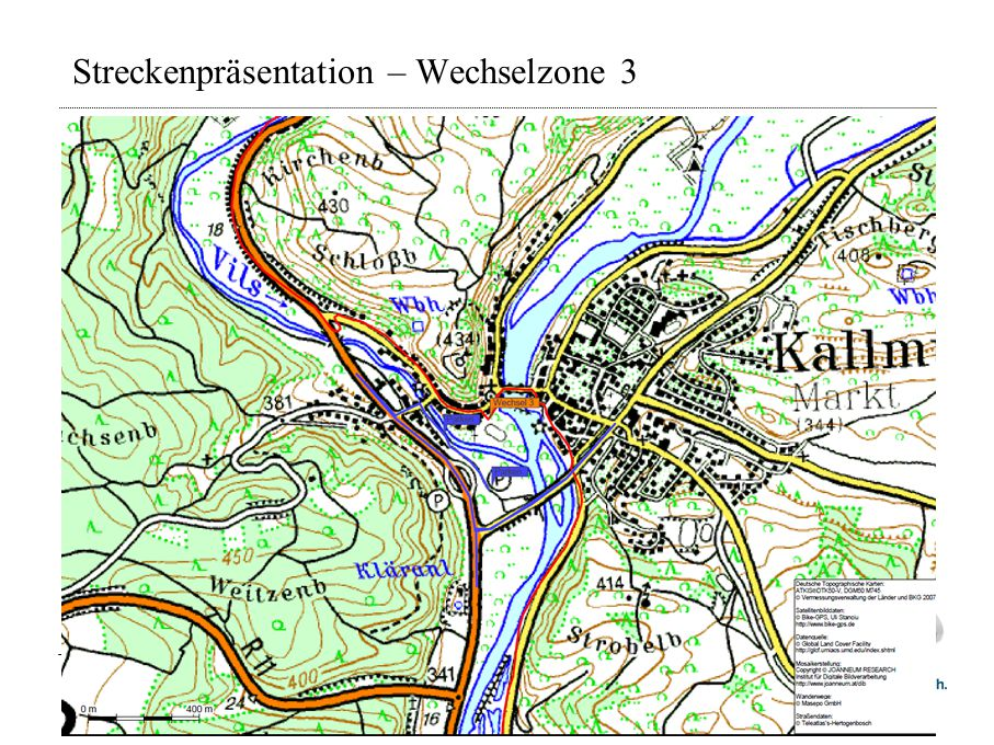 Streckenpräsentation – Wechselzone 3