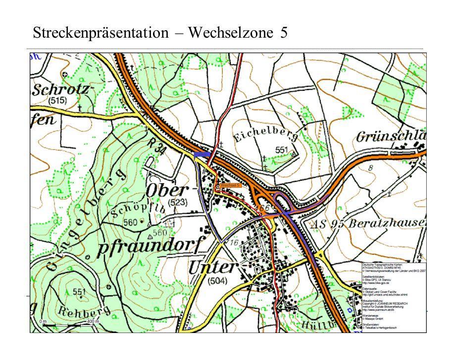 Streckenpräsentation – Wechselzone 5